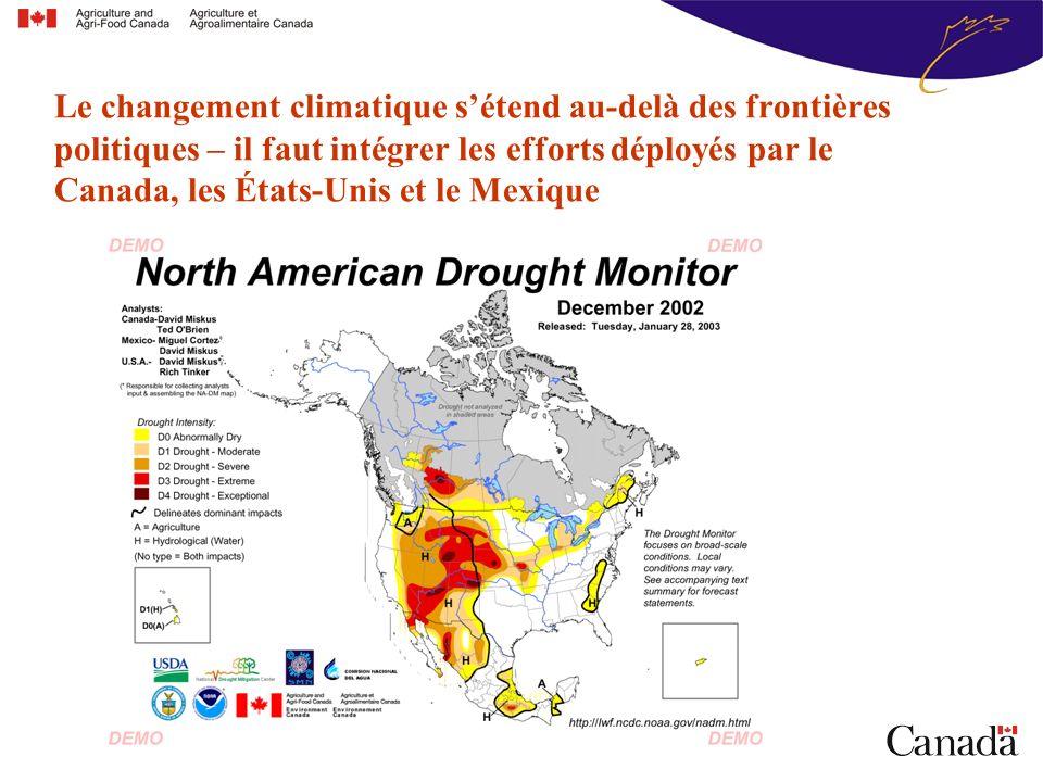 Le changement climatique sétend au-delà des frontières politiques – il faut intégrer les efforts déployés par le Canada, les États-Unis et le Mexique
