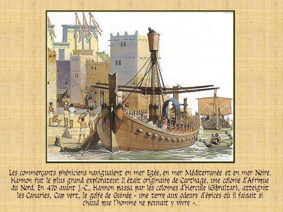 Les explorateurs grecs établirent des colonies sur la mer Egée. Vers 330 avant J.-C., le navigateur Pythéas le Massaliote partit de Marseille et attei