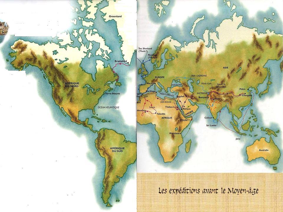 En 1492 avant J.-C., la reine dEgypte Hatshepsout affréta une flotte depuis la mer Rouge jusquau pays de Pount, probablement lactuelle Afrique de lEst