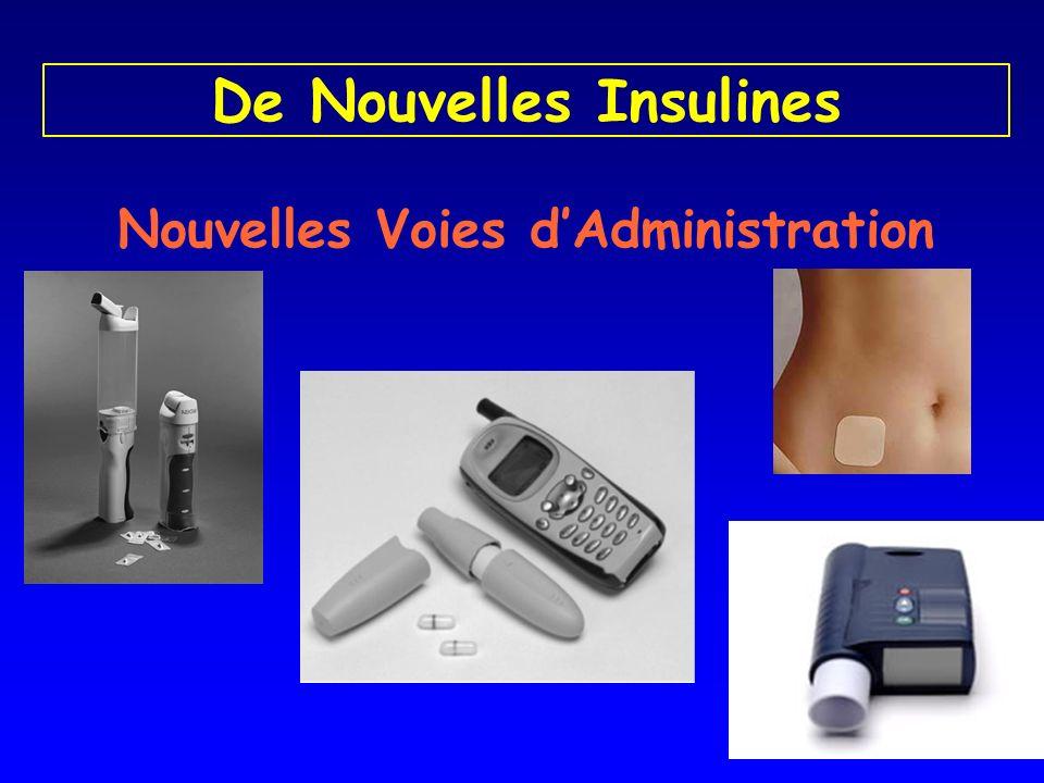 De Nouvelles Insulines Nouvelles Voies dAdministration