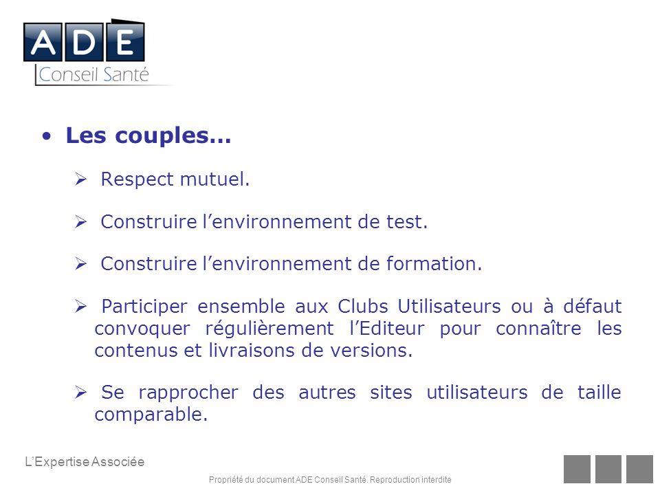 Propriété du document ADE Conseil Santé.
