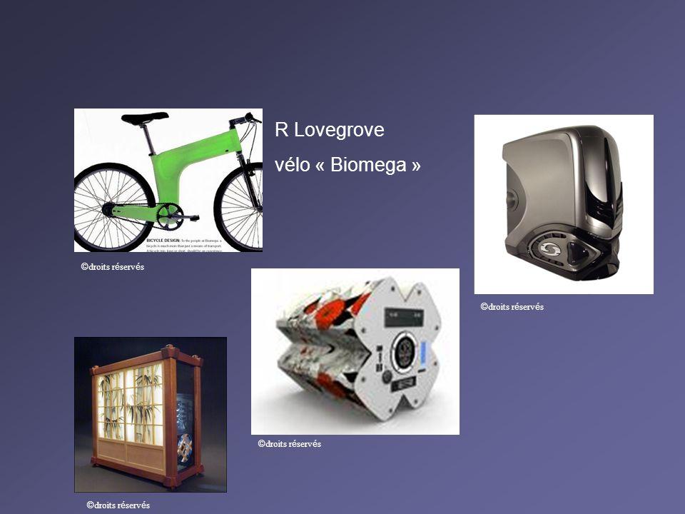 R Lovegrove vélo « Biomega » © droits r é serv é s