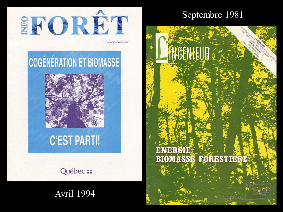 Avril 1994 Septembre 1981