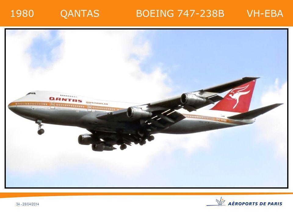 34 - 28/04/2014 1980 QANTAS BOEING 747-238B VH-EBA