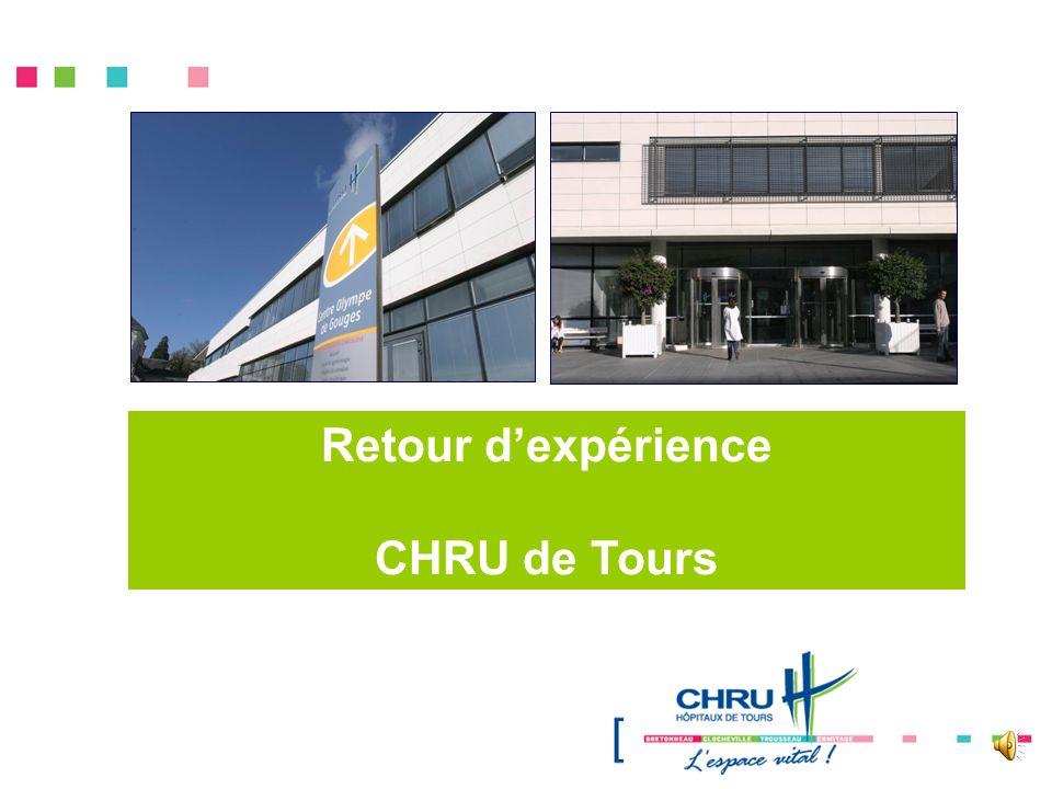 Retour dexpérience CHRU de Tours