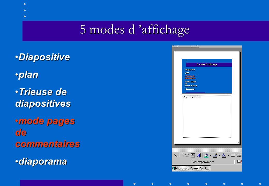 menu diaporama\personnaliser l animation –minutage utiliser animationscocher utiliser animations préférer manuel –ordre avec flèche choisir l ordre d apparition des objets Animation du diaporama