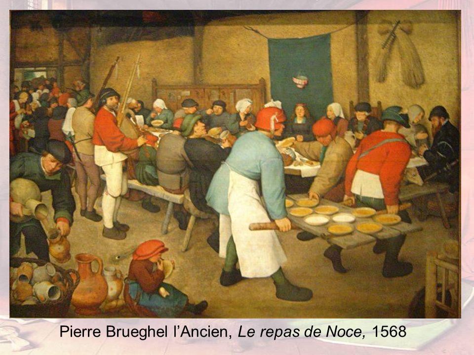 Pierre Brueghel lAncien, Le repas de Noce, 1568
