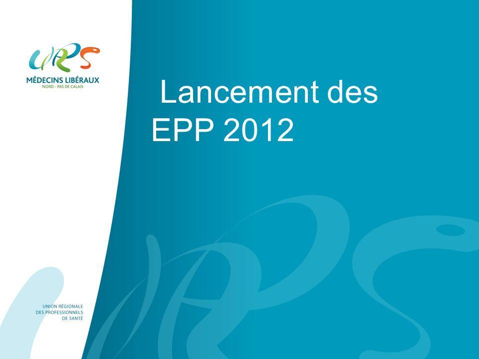 Lancement des EPP 2012