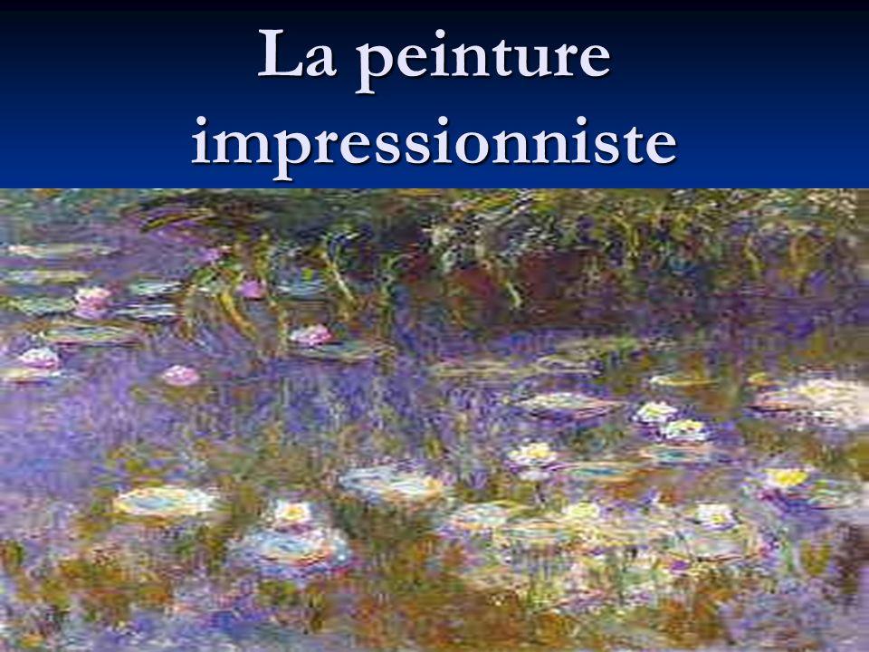Limpressionnisme Limpressionnisme, comme son nom lindique, est fait dimpressions.