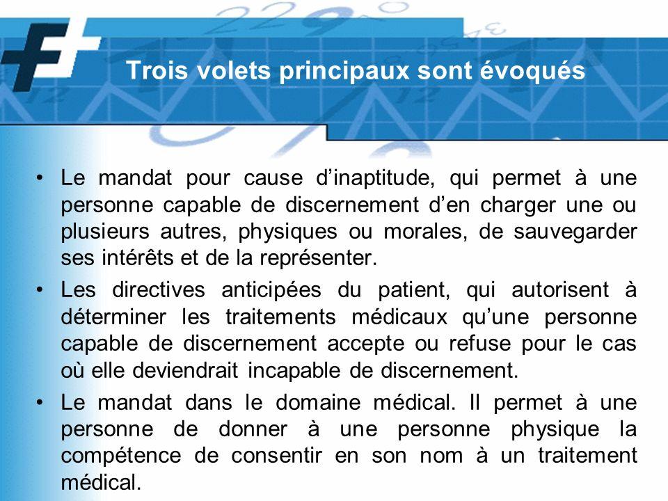 Directives anticipées du patient Fiduciaire Michel Favre SA, Lausanne FJF Favre Juridique et Fiscal SA, Lausanne