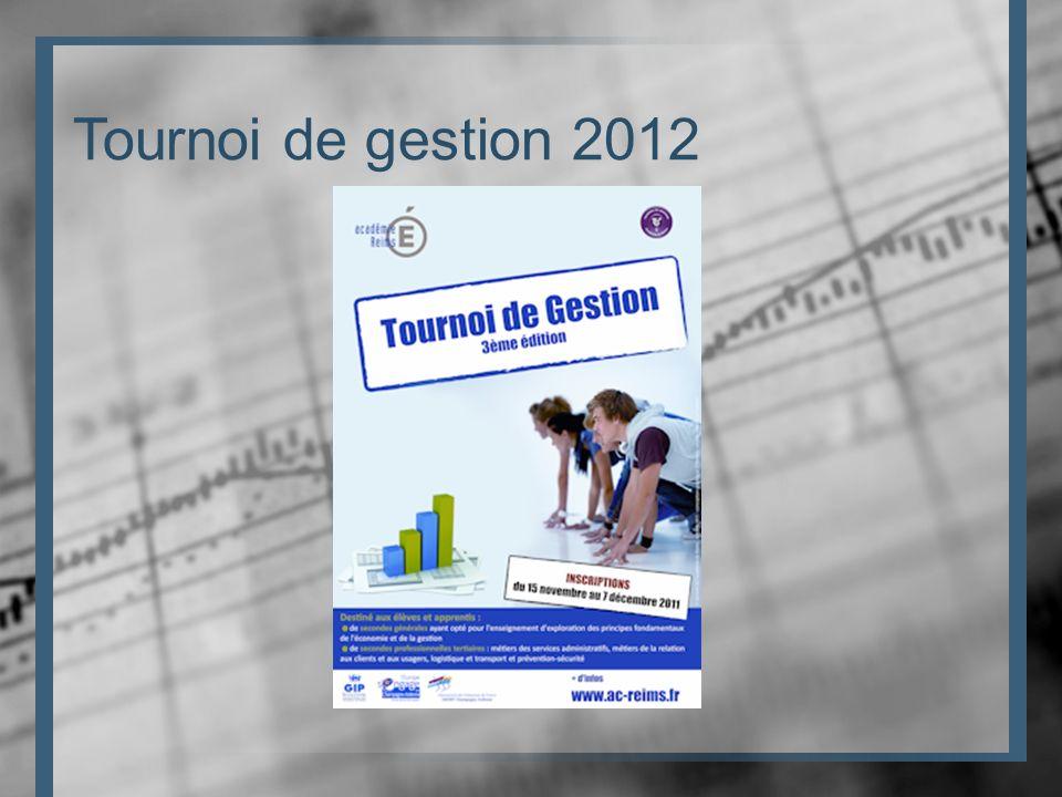 Tournoi de gestion 2012
