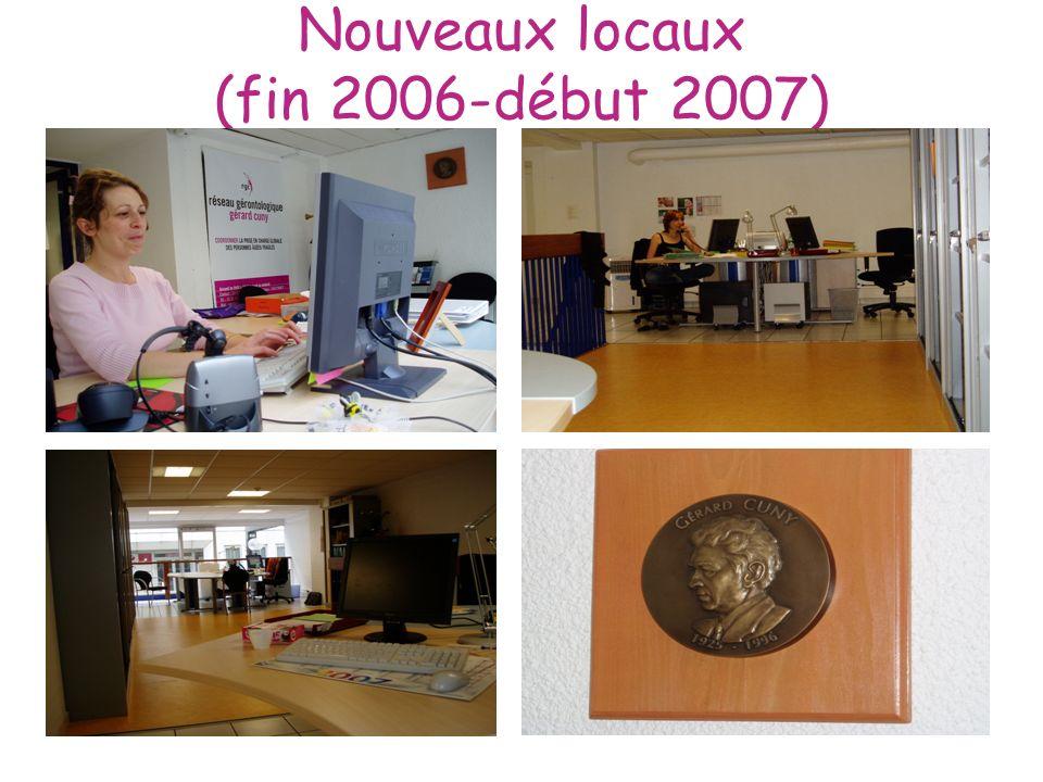 Nouveaux locaux (fin 2006-début 2007)