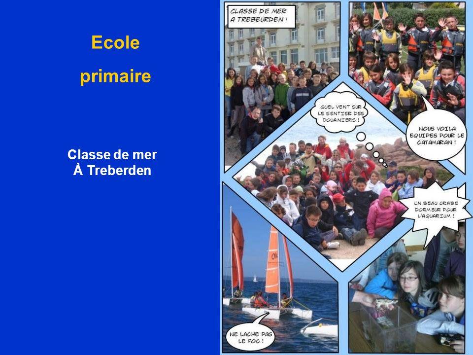 Classe de mer À Treberden Ecole primaire