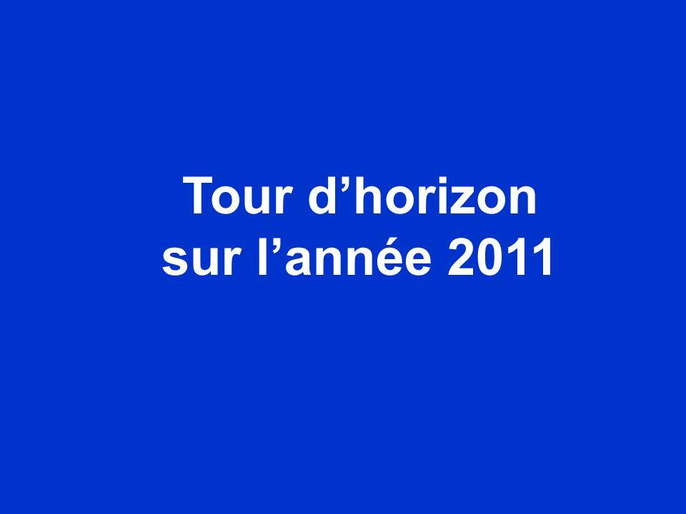 Tour dhorizon sur lannée 2011