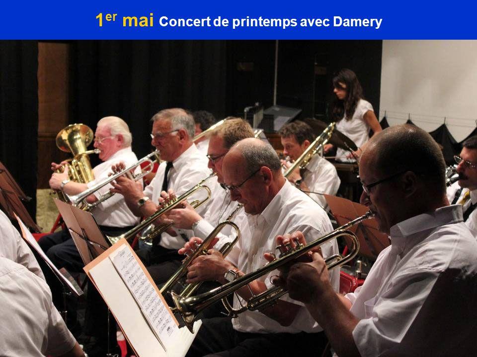 1 er mai Concert de printemps avec Damery