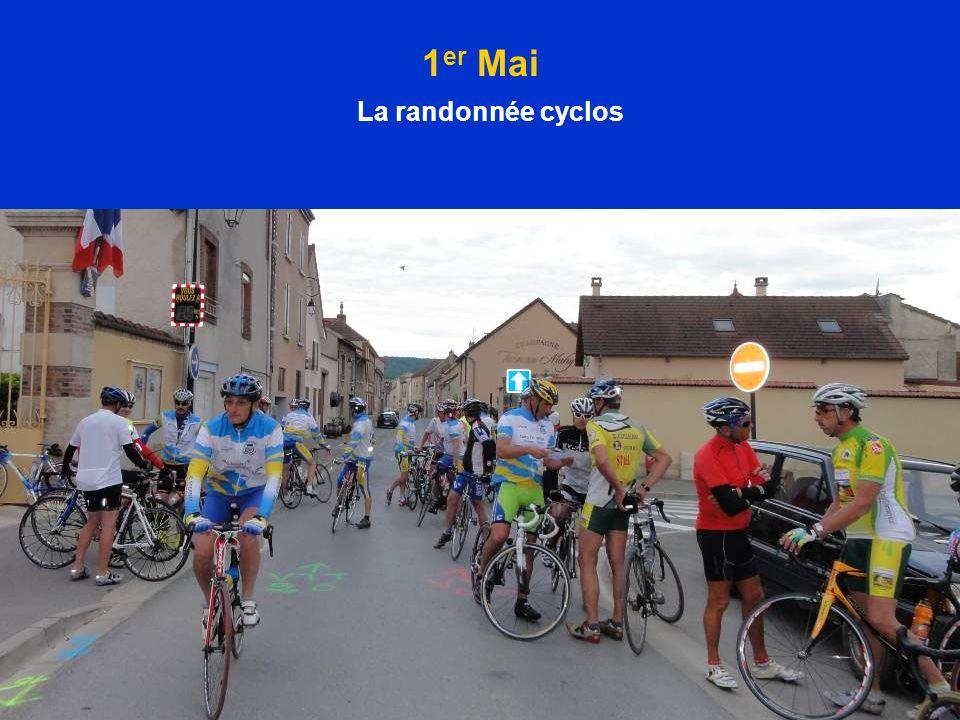 1 er Mai La randonnée cyclos