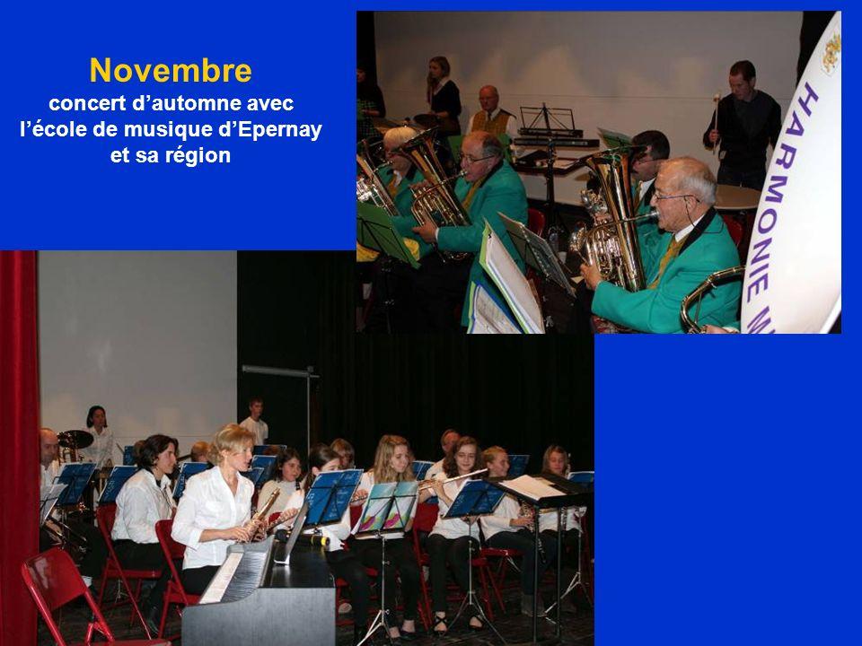 Novembre concert dautomne avec lécole de musique dEpernay et sa région