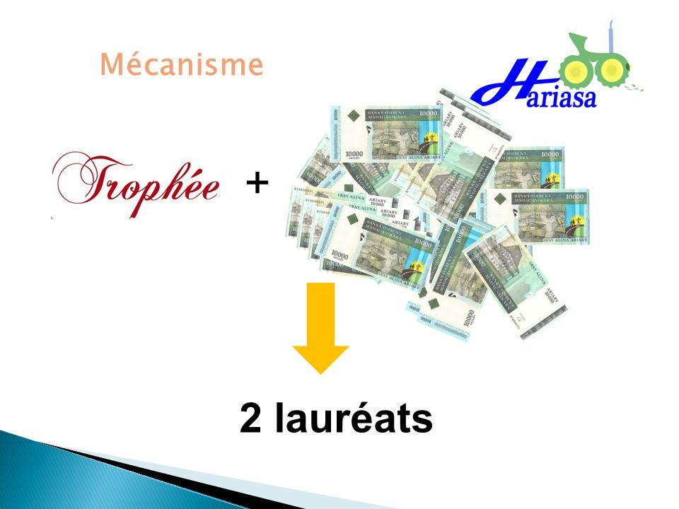 Mécanisme 2 lauréats +