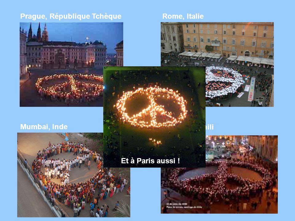 Rome, Italie Mumbai, Inde Prague, République Tchèque Santiago, Chili Et à Paris aussi !