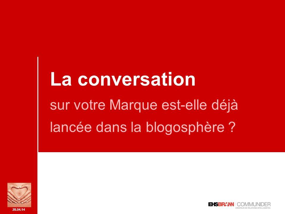 28.04.14 idée reçue n° 1 Le phénomène blog nest pas encore mature : trop confidentiel, surtout pour une population jeune, etc.