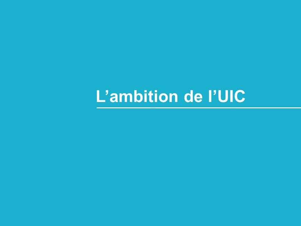 Lambition de lUIC