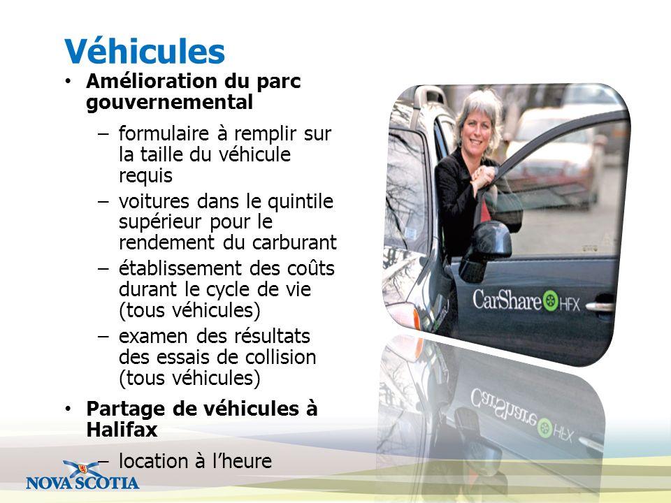 Véhicules Amélioration du parc gouvernemental –formulaire à remplir sur la taille du véhicule requis –voitures dans le quintile supérieur pour le rend