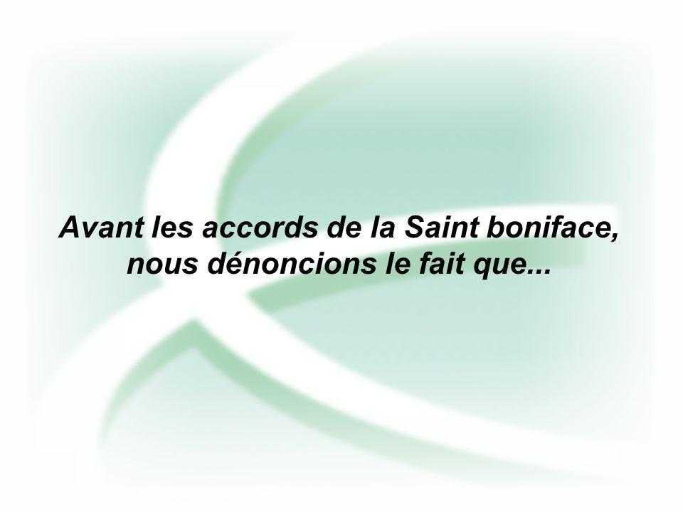 Les espoirs de la St Boniface...