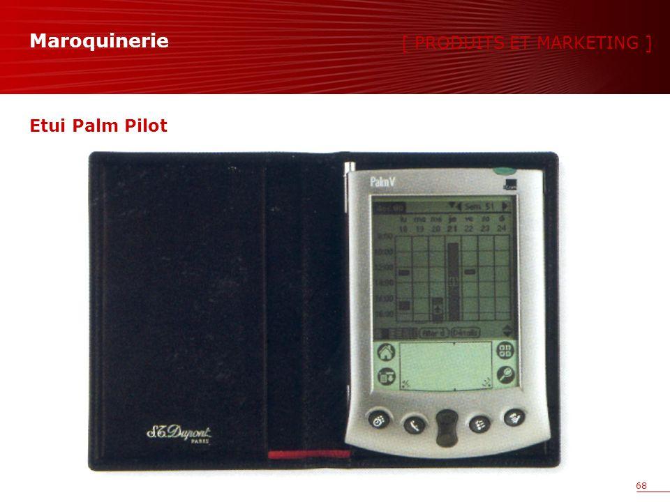 68 Etui Palm Pilot [ PRODUITS ET MARKETING ] Maroquinerie