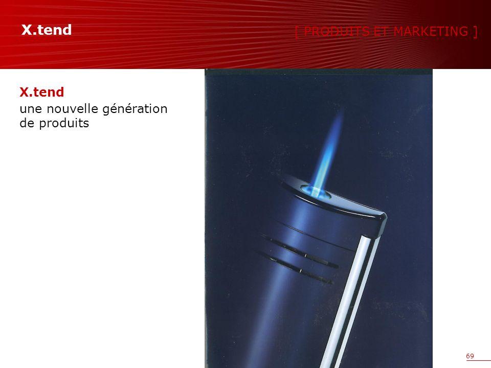 69 X.tend une nouvelle génération de produits [ PRODUITS ET MARKETING ] X.tend