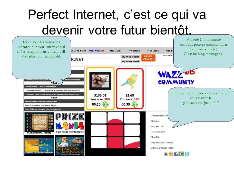 Perfect Internet, cest ce qui va devenir votre futur bientôt.