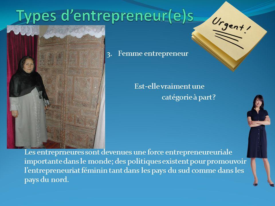 3. Femme entrepreneur Est-elle vraiment une catégorie à part.