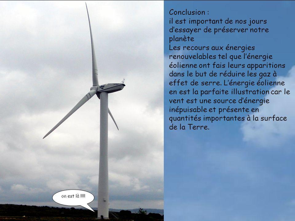 INFORMATIONS GENERALES SUR LE PARC DAUMELAS Vitesse moyenne des vents 30km/h (ce gisement éolien compte parmi les meilleurs de France) Puissance installées 24 éoliennes REPOWER de 2000 kW, soit une puissance totale de 48MW Production électrique annuelle139.2 millions de kWh, soit une production qui correspond à la consommation électrique globale de 56 727 personnes.