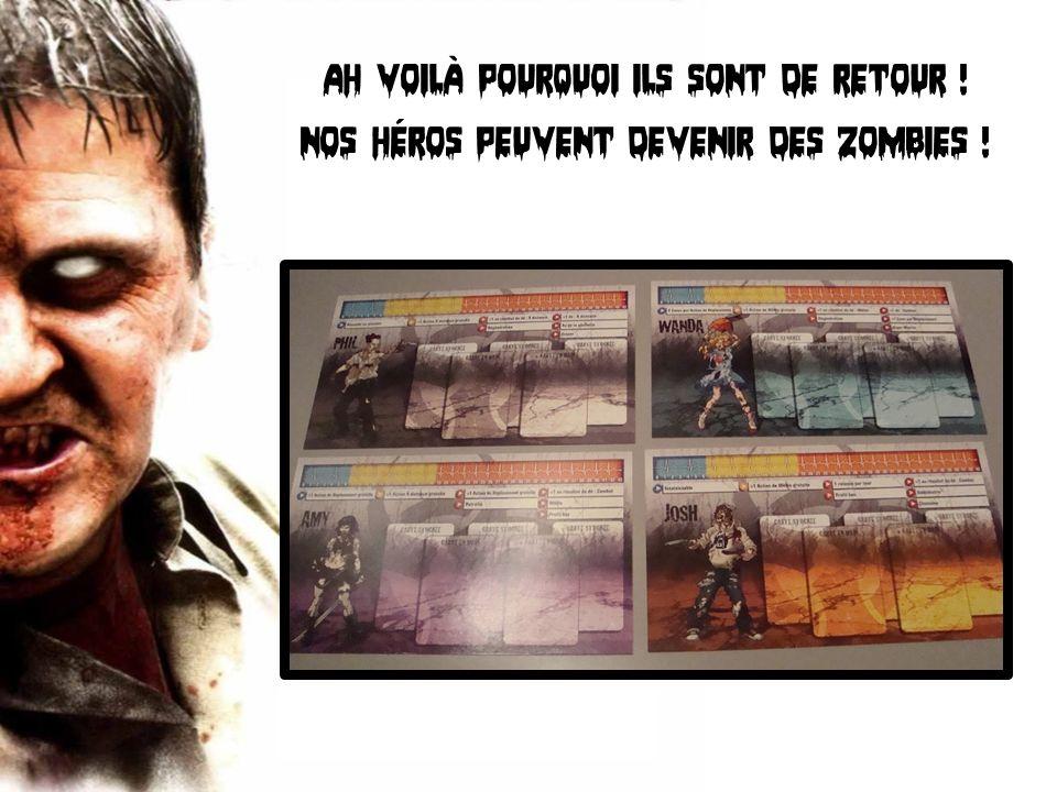 Ah voilà pourquoi ils sont de retour ! Nos héros peuvent devenir des zombies !