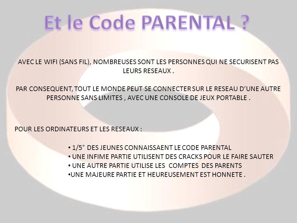 AVEC LE WIFI (SANS FIL), NOMBREUSES SONT LES PERSONNES QUI NE SECURISENT PAS LEURS RESEAUX.