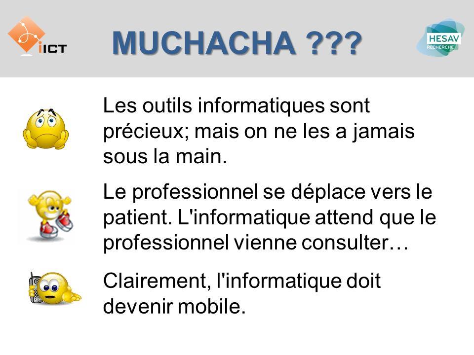 MUCHACHA .Les fonctionnalités doivent être définies par des professionnels de la santé.