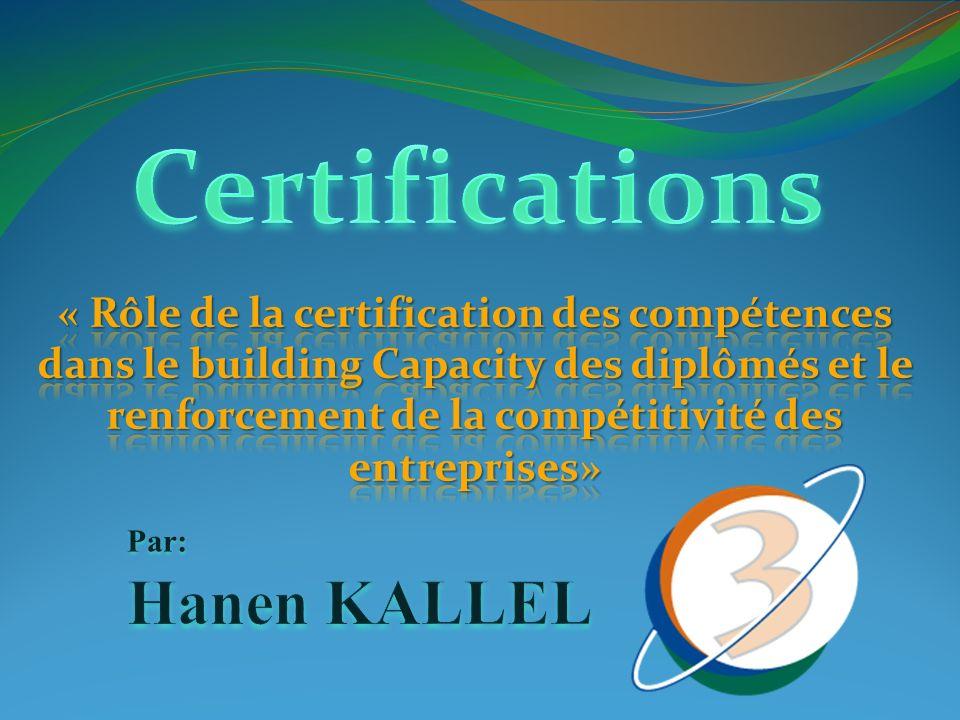 Plan Qui sommes nous.La certification: cest quoi .