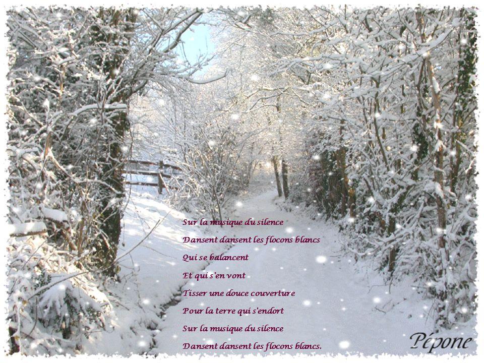 Nuit de neige La grande plaine est blanche, immobile et sans voix.