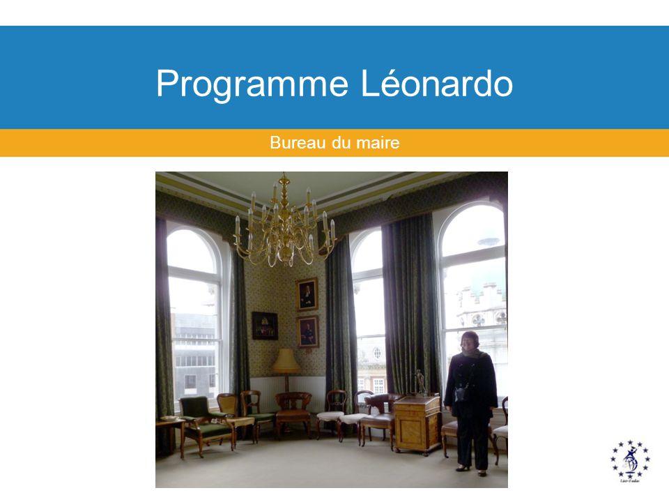 Programme Léonardo Bureau du maire