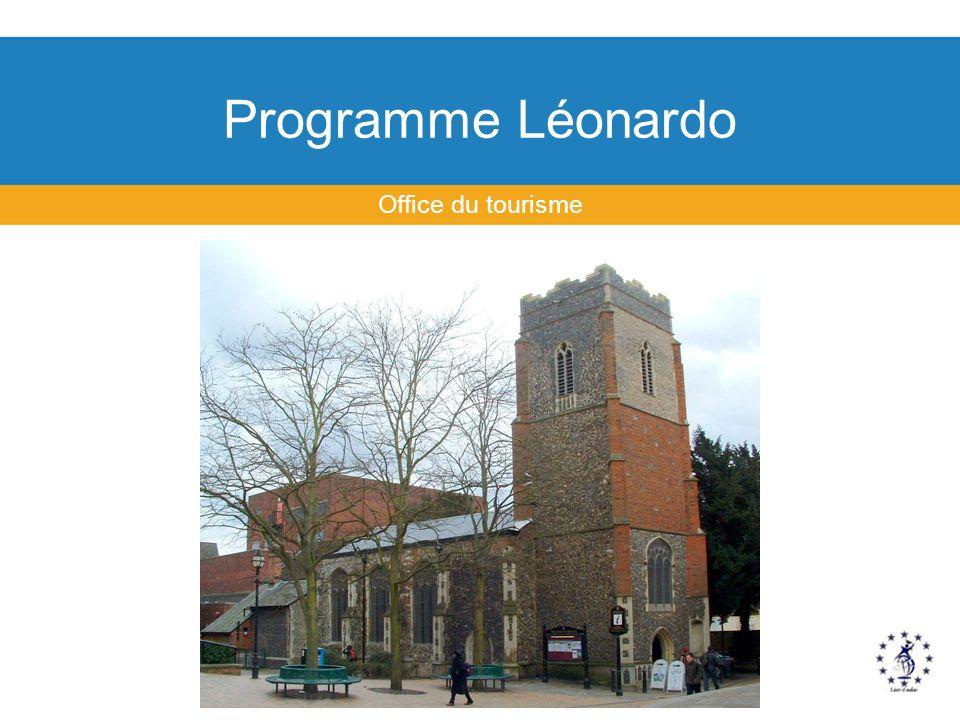 Programme Léonardo Office du tourisme