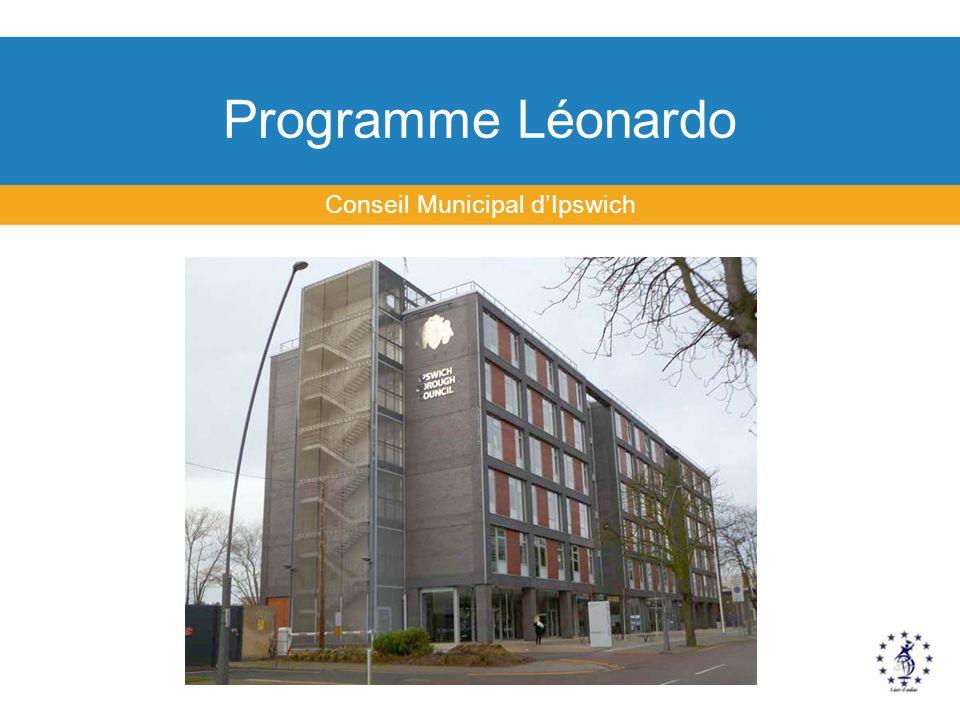 Programme Léonardo Conseil Municipal dIpswich