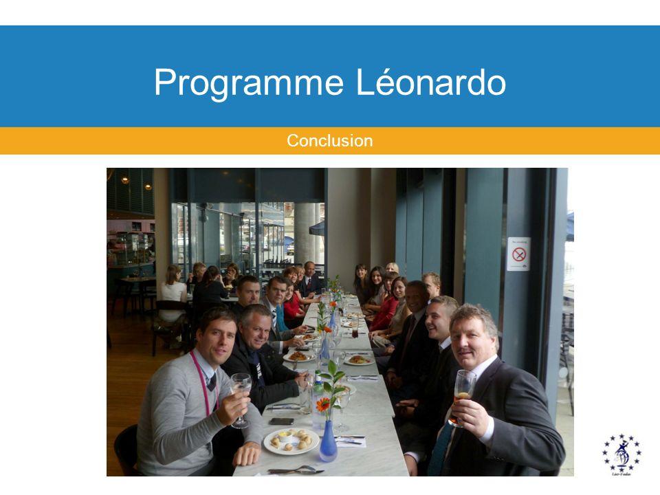 Programme Léonardo Conclusion