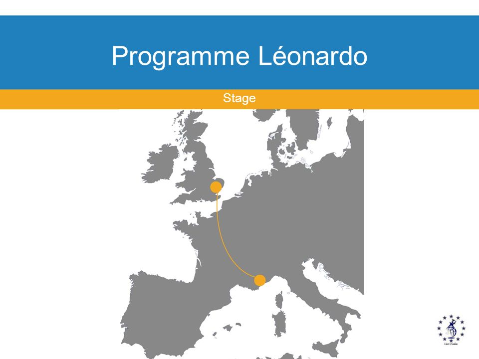 Programme Léonardo Stage