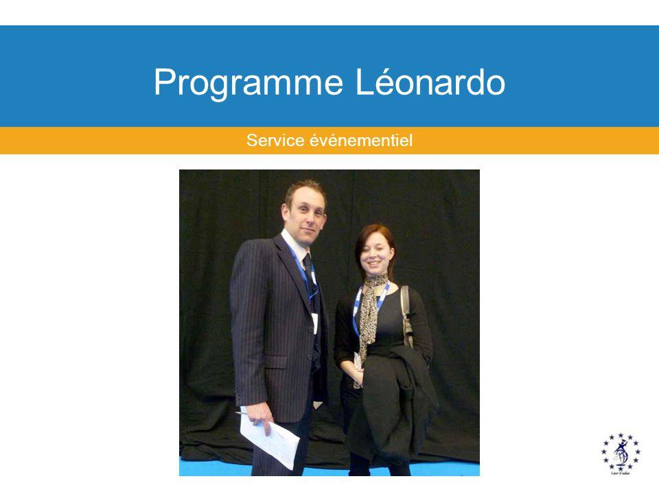 Programme Léonardo Service événementiel