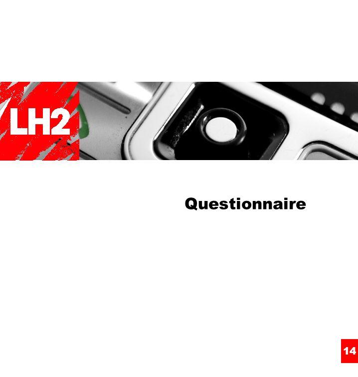 14 Questionnaire