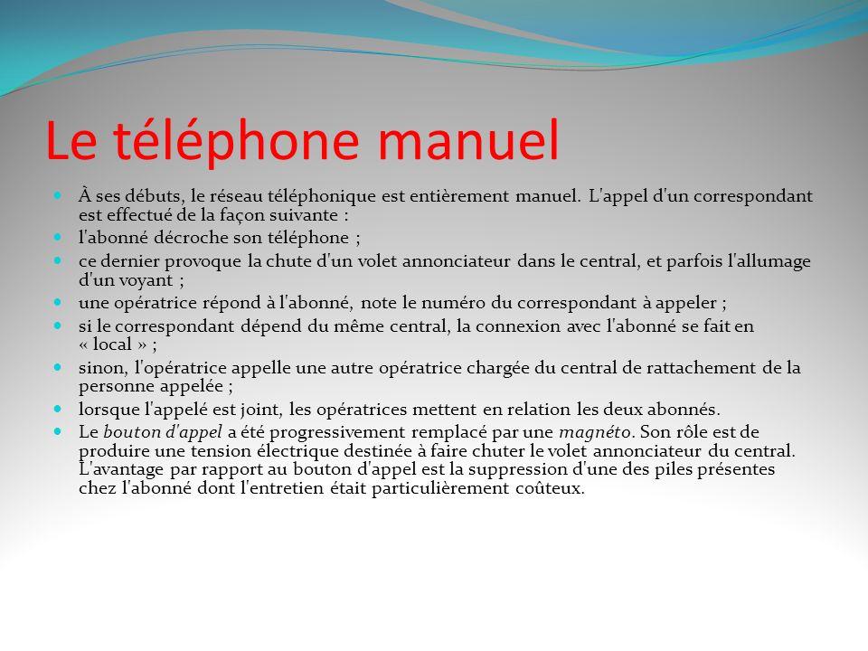 Le téléphone de Bell L'invention du téléphone est attribuée Alexandre Graham Bell. On lui connaît plusieurs précurseurs, dont : Alexandre Graham Bell