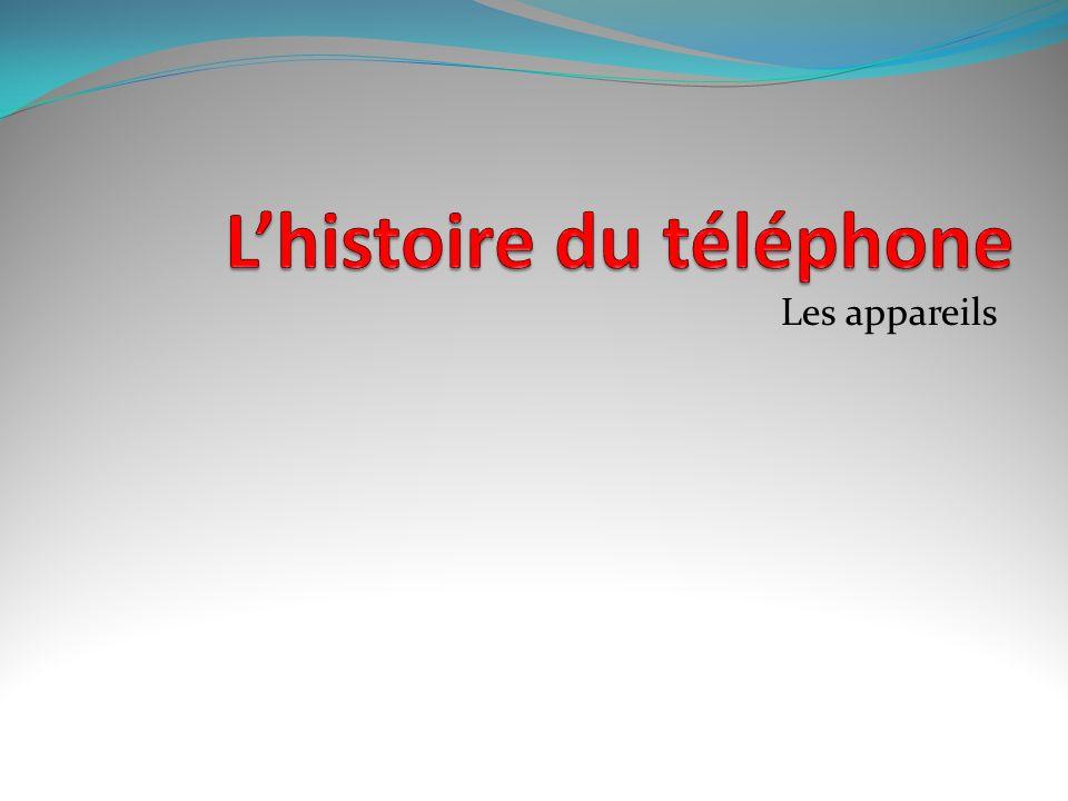 Le téléphone mobile La téléphonie mobile est née dans les années 1950 aux États-Unis. Les premiers réseaux nécessitaient l'allocation d'une fréquence