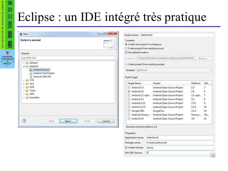 Eclipse : un IDE intégré très pratique
