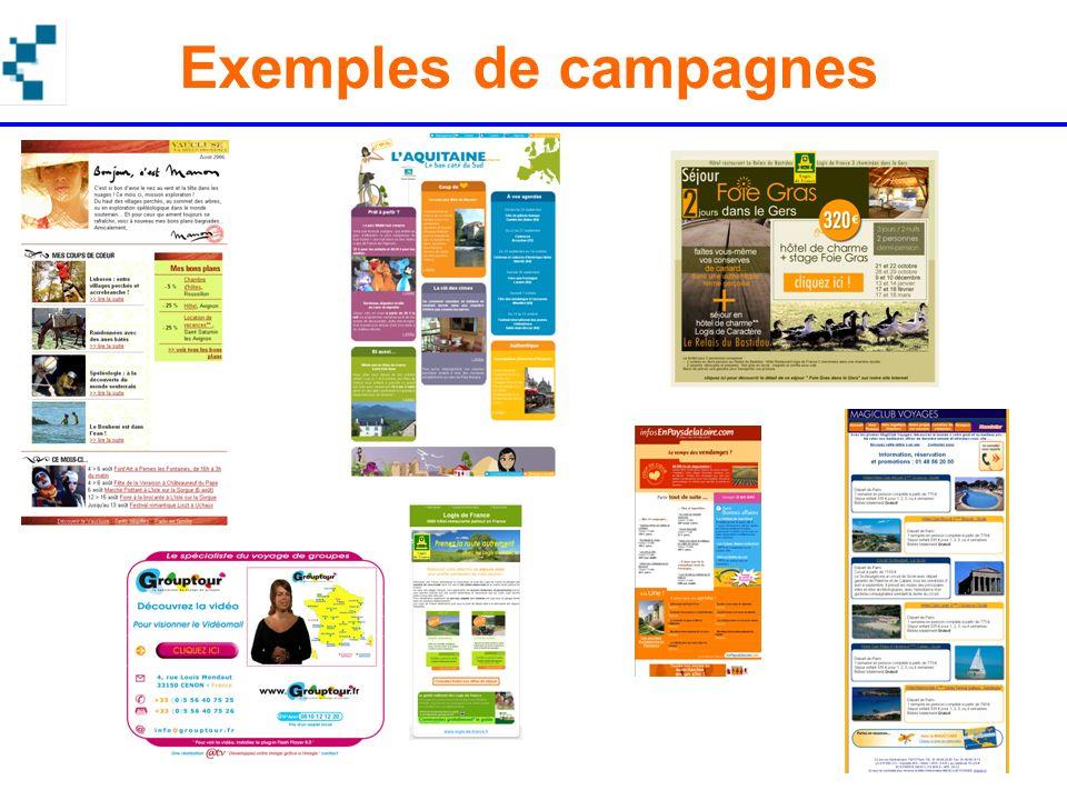 Exemples de campagnes