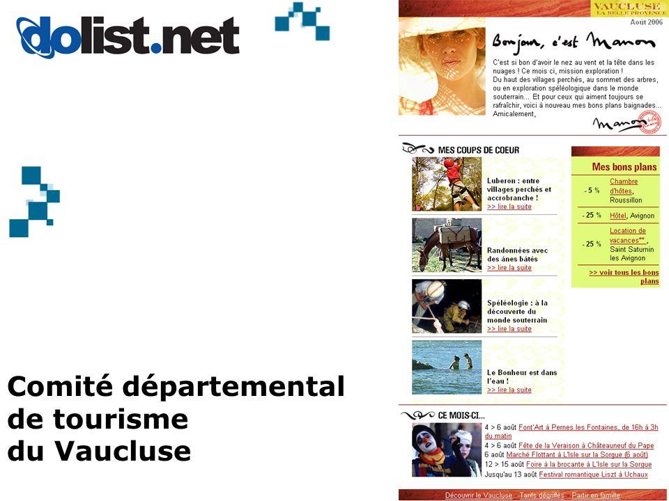 Comité départemental de tourisme du Vaucluse