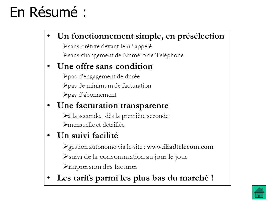 Pour votre abonnement pas de changement : - Vous payez votre abonnement à France Telecom Pour vos communications : - Vos communications sont facturées